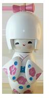 Japansk Kokeshi dukke