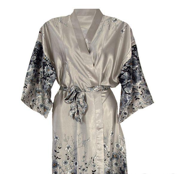 51a22d98a883 Kimono - sølv -