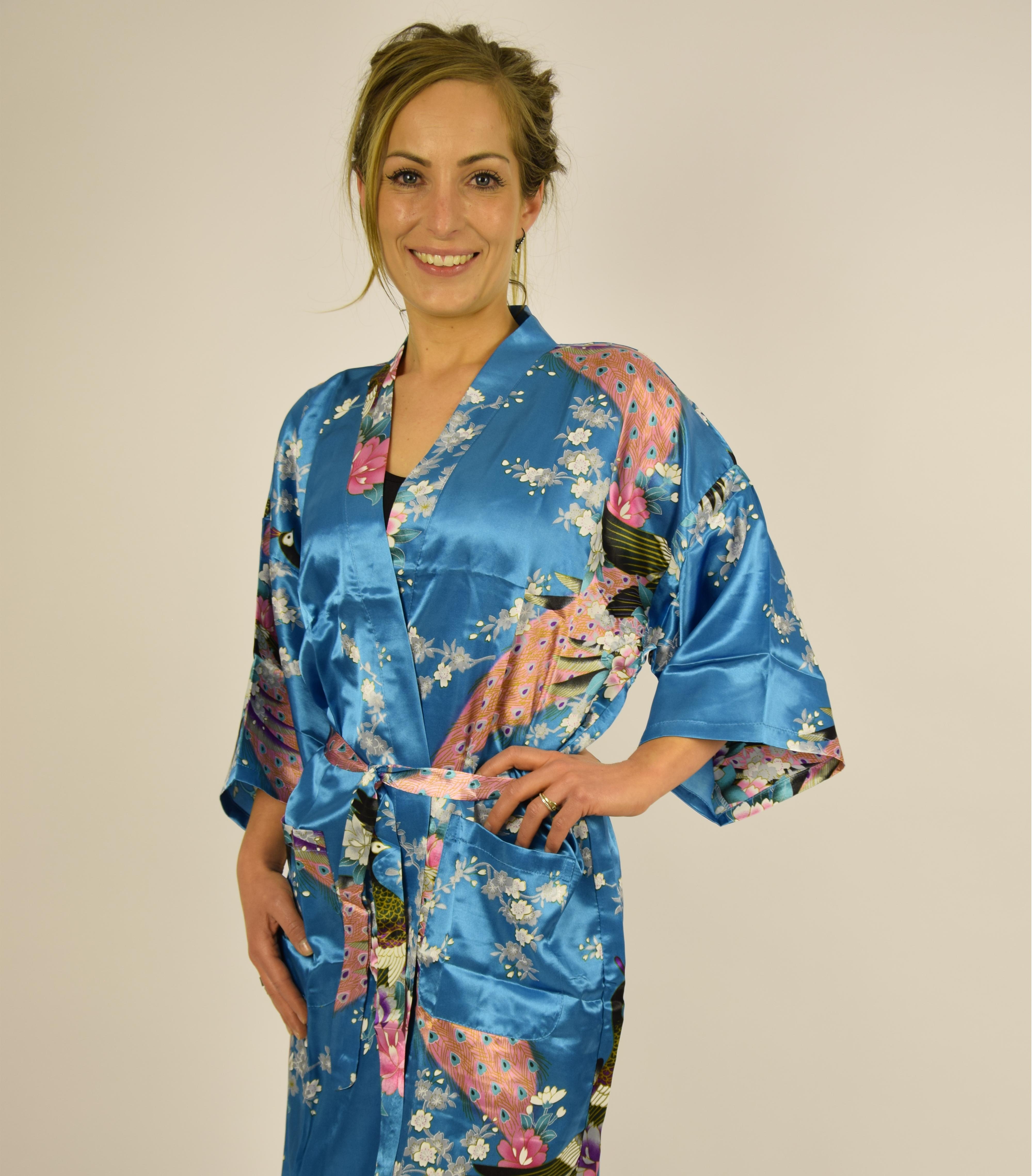 87353348688e Kimono - Blå kort -